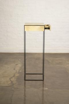 Costantini Design Marcello Side Table in Parchment from Costantini - 1852054