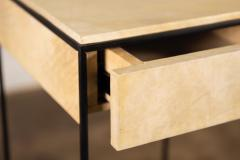 Costantini Design Marcello Side Table in Parchment from Costantini - 1852056
