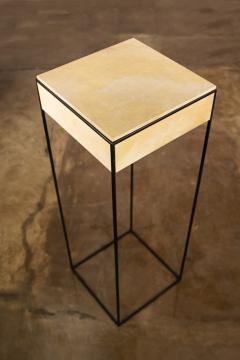 Costantini Design Marcello Side Table in Parchment from Costantini - 1852058