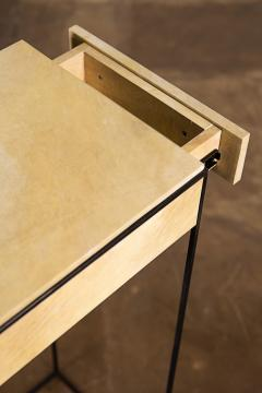 Costantini Design Marcello Side Table in Parchment from Costantini - 1852059