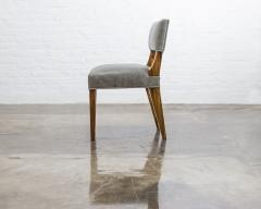 Costantini Design Modern Dining Chair in Argentine Exotic Wood and Leather from Costantini Bruno - 1977852