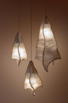 Costantini Design Modern Fabric Pendant Light Phantasma from Studio Mirei In Stock - 2045833