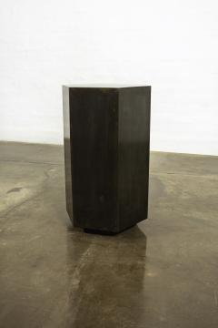 Costantini Design Modern Side Table in Patinated Steel from Costantini Ettore Hex In Stock  - 1897812