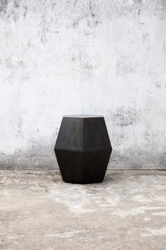 Costantini Design Modern Side Table in Steel from Costantini Tamino Hex - 2101810