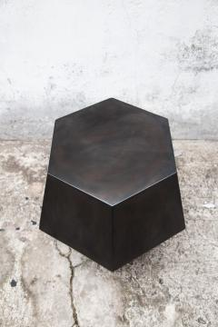 Costantini Design Modern Side Table in Steel from Costantini Tamino Hex - 2101816