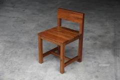 Costantini Design Modern Solid Argentine Rosewood Serrano Chair from Costantini - 1698725