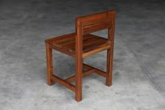 Costantini Design Modern Solid Argentine Rosewood Serrano Chair from Costantini - 1698728