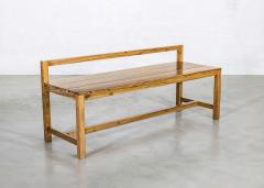 Costantini Design Modern Solid Exotic Wood Outdoor Bench from Costantini Serrano In Stock  - 2139924