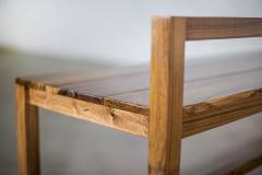 Costantini Design Modern Solid Exotic Wood Outdoor Bench from Costantini Serrano In Stock  - 2139930