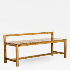 Costantini Design Modern Solid Exotic Wood Outdoor Bench from Costantini Serrano In Stock  - 2144607