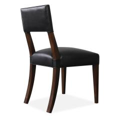 Costantini Design Neto Contemporary Dining Chair from Costantini in Wood Frame and Leather - 1686559