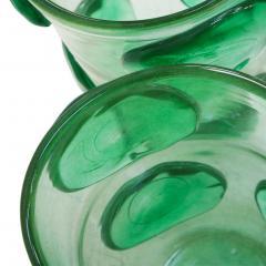 Costantini Design Pair of Mid Century Modern Costantini Murano Glass Italian Vases - 1575703