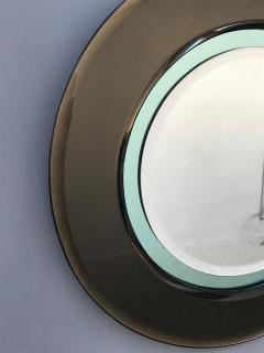 Cristal Art Italian Round Mirror Attributed to Cristal Art - 1161535