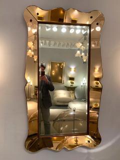 Cristal Art Mirror by Cristal Art Italy 1960s - 1164145
