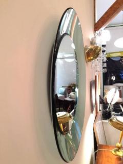 Cristal Arte CRISTAL ART Emerald green crystal mirror Italy circa 1960 - 977609