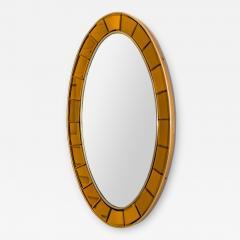 Cristal Arte CRISTAL ARTE OVAL MODERNIST MIRROR - 1458508