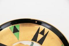 Crown Devon Art Deco Orient Coffee Cup Saucer by Crown Devon - 2043595