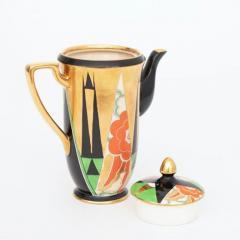 Crown Devon Art Deco Orient Coffee Pot by Crown Devon - 2043636