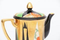 Crown Devon Art Deco Orient Coffee Pot by Crown Devon - 2098823