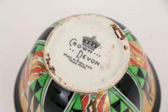 Crown Devon Art Deco Orient Sugar Bowl by Crown Devon - 2043619