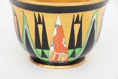 Crown Devon Art Deco Orient Sugar Bowl by Crown Devon - 2043621