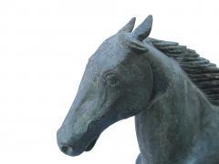 Cushing White 19 Century Dexter Horse Weathervane - 251508
