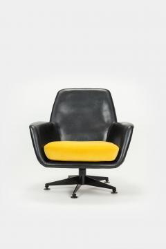 DEM Lounge chair company DEM Switzerland 60s - 2067420
