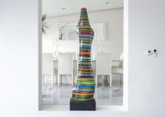 DESIGNLUSH FUSED GLASS FLOOR LAMP - 1528368