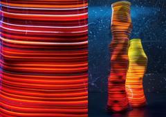 DESIGNLUSH FUSED GLASS FLOOR LAMP - 1528370
