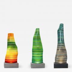 DESIGNLUSH FUSED GLASS FLOOR LAMP - 1528690