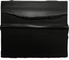 DJERIC HUNOLD DJERIC HUNOLD PAINTING PLASTER PIGMENTS ON PANEL BLACK - 1915205