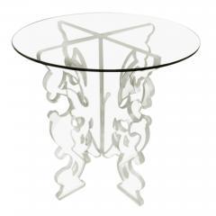 DWM MALOOS Baroque Lucite Base Game Table - 1853205