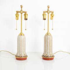 Dahl Jensen DAHL JENSEN DANISH ART DECO PORCELAIN LAMPS - 1257929