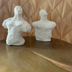 Dainche AWAY Pair of clay sculptures - 1304568