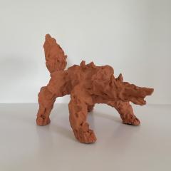 Dainche CRAZY WOLF Sculpture - 1502229
