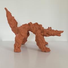 Dainche CRAZY WOLF Sculpture - 1502234