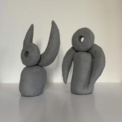 Dainche VOL DE NUIT Grey ceramic set - 1489666