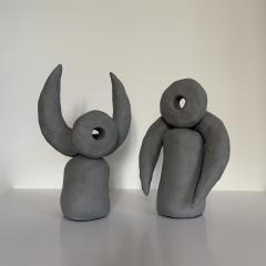 Dainche VOL DE NUIT Grey ceramic set - 1489670