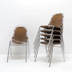 Dal Vera Les Arc Chairs Selected by Charlotte Perriand - 1132228
