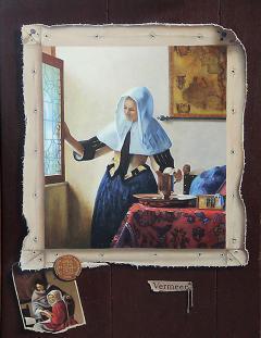 Dana Tillou Fine Art John Yerger American 1935 2017 Homage to Vermeer - 652285