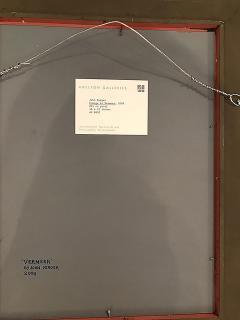 Dana Tillou Fine Art John Yerger American 1935 2017 Homage to Vermeer - 652287