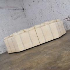 Dansen Contemporary Vintage modern or art deco revival two piece angled sectional sofa by dansen - 1780941