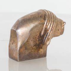 Dansk DANSK Designs BISON Paperweight Silver Mid Century Danish Modern Vintage - 1536750