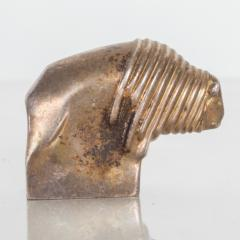 Dansk DANSK Designs BISON Paperweight Silver Mid Century Danish Modern Vintage - 1536751