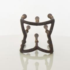 Dansk DANSK Designs Denmark Cast Iron Crown Candelabra by Jens Quistgaard - 1485329