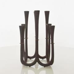 Dansk DANSK Designs Denmark Cast Iron Crown Candelabra by Jens Quistgaard - 1485330