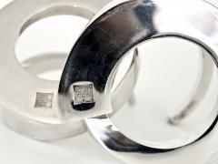 Dansk Dansk Silverplate Danish Modern Midcentury Spiral Candleholders - 1343225