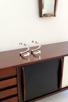 Dansk Dansk Silverplate Danish Modern Midcentury Spiral Candleholders - 1343227