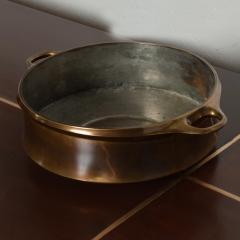 Dansk Early DANSK Casserole Pot Serving Dish in Bronze Jens Quistgaard Denmark 1960s - 1542681