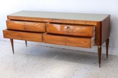 Dassi Italian Modern Mahogany Fruitwood Bronze Mounted Sideboard Buffet or Dassi - 422560